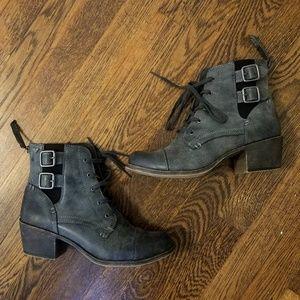 NWOT Roxy Combat Moto Ankle Boots